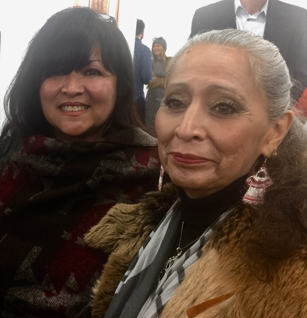 Cultural Resources Director of Wishtoyo Chumash Village, Luhui Isha and Historian and Standing Rock Sioux tribal member, LaDonna Brave Bull Allard