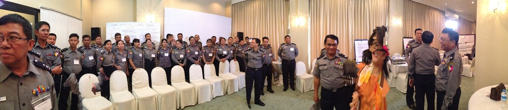 Conflict Sensitivity Training for the Myanmar Police Force