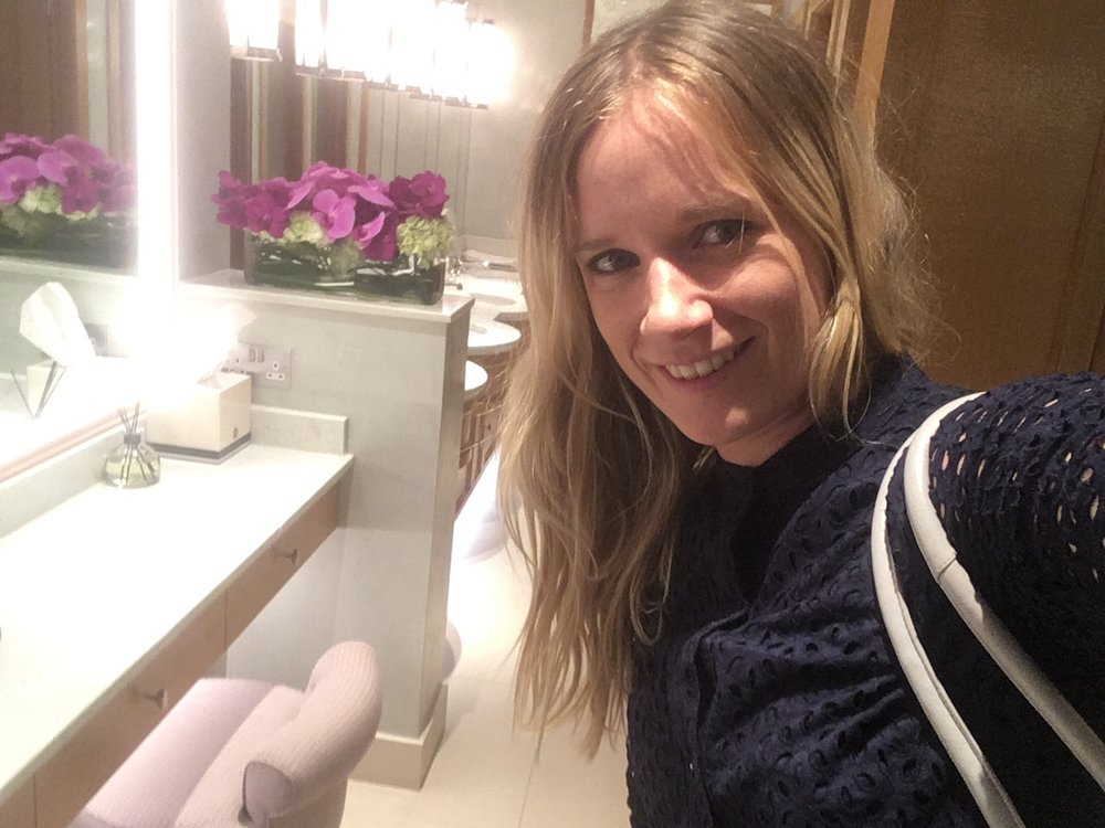 Wimbledon Clubhouse toilets!