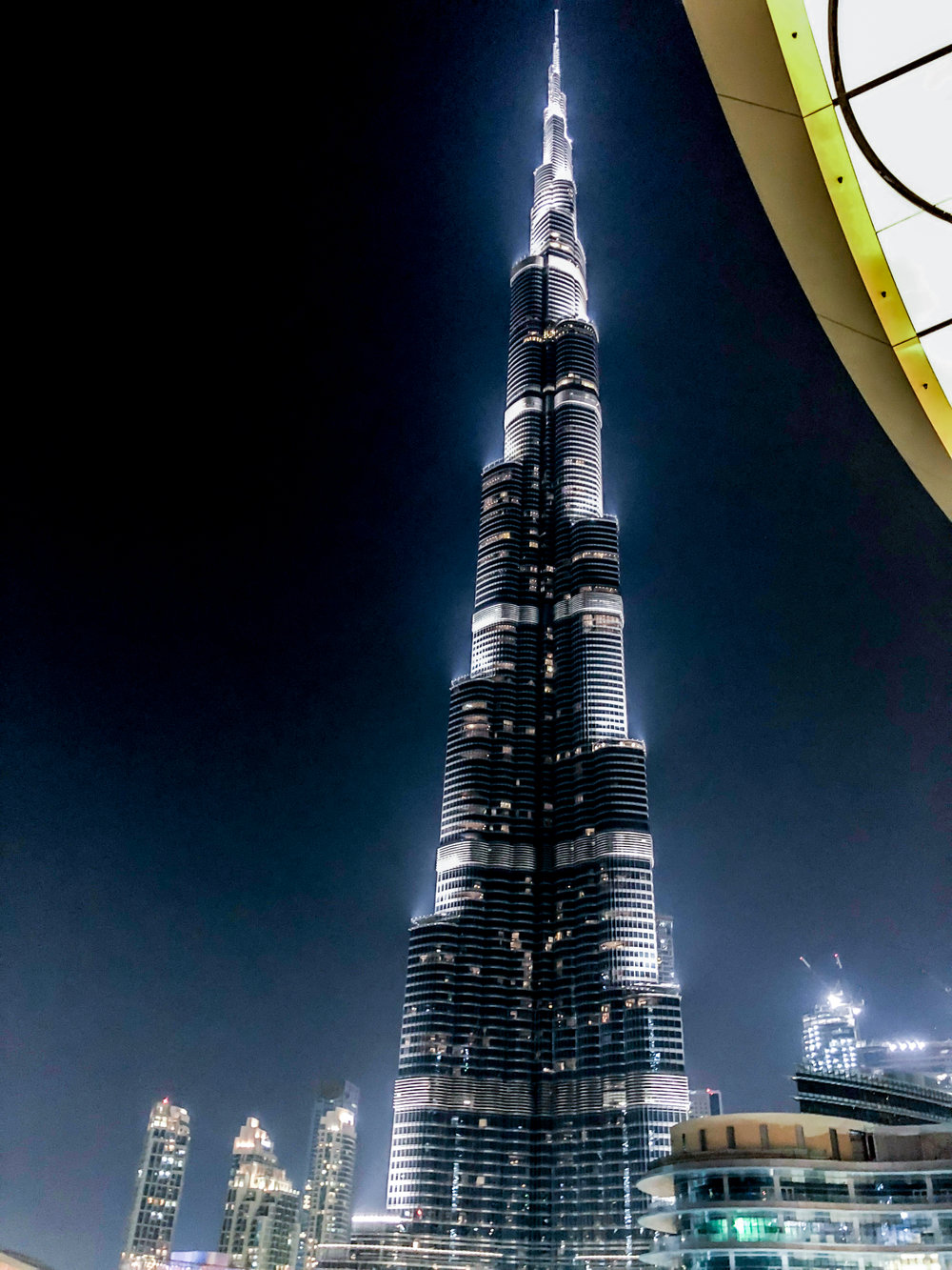 The Burj Khalifa - it is absolutely HUGE!