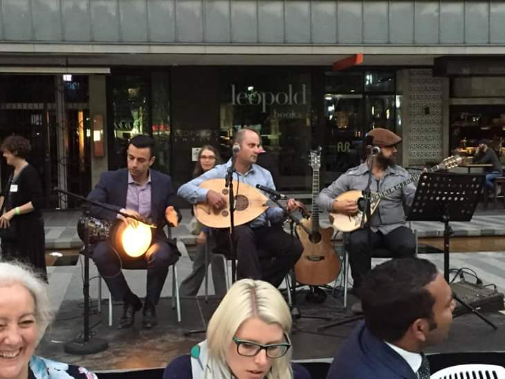 """I'll Dine With you"" by Interfaith Centre of Melbourne - City Square Melbourne CBD 2016"