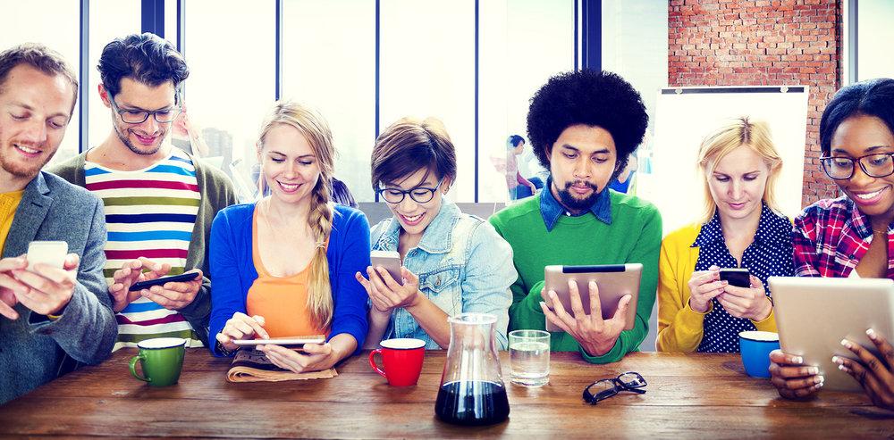 team-building « digital» - Le team-building revisité,avec tablettes et smartphones,donnez une impulsion dernière génération à vos équipes.