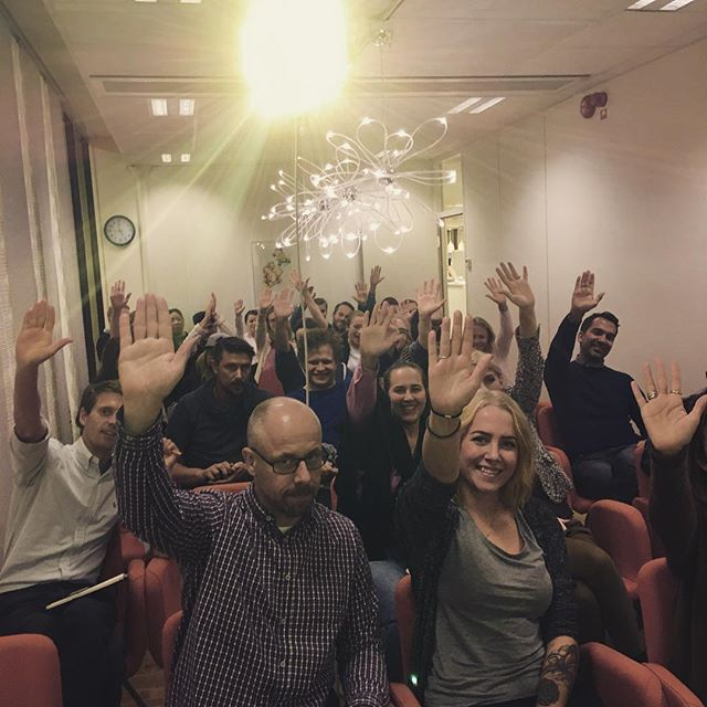 A final high-five to round off the day with the GodEl crew after our workshop!  #companyculture #valuesdriven #weloveourclients #sustainability #godel #goodcause