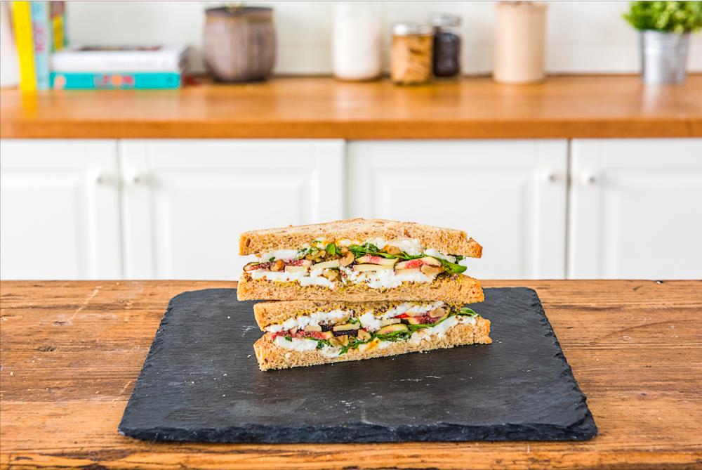 Ziegenkäse Sandwich