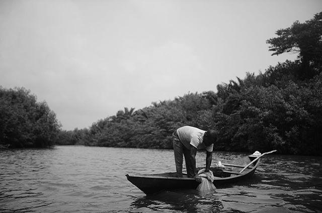 LIVE : Cruising on River Whin inside Takoradi
