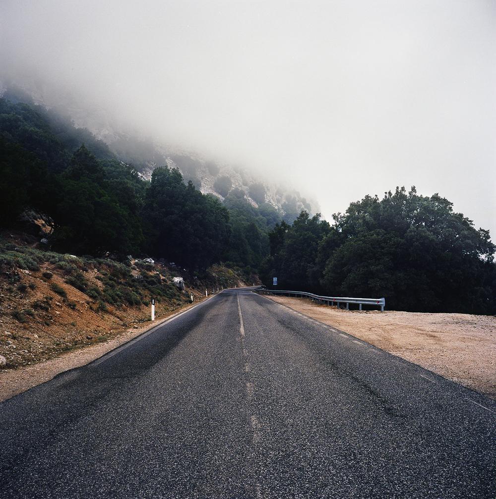 Road trip through the hills of Sardinia.© Patrick H. Sampson, 2015.
