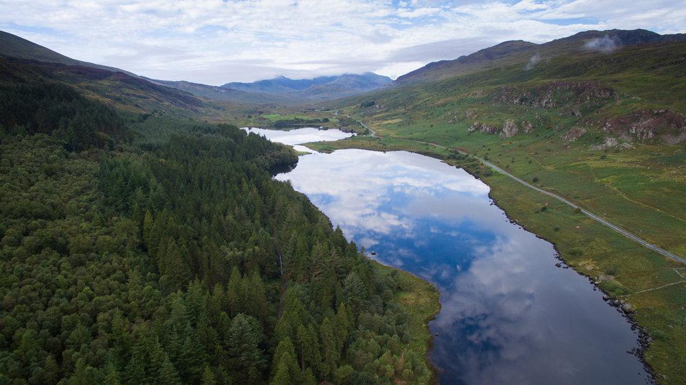 Twin Lakes, Snowdonia. © Patrick H. Sampson, 2017.