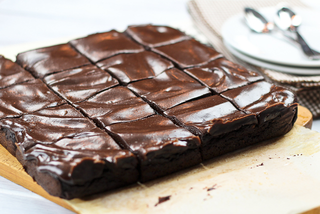 Chocolate Vegetable Brownie
