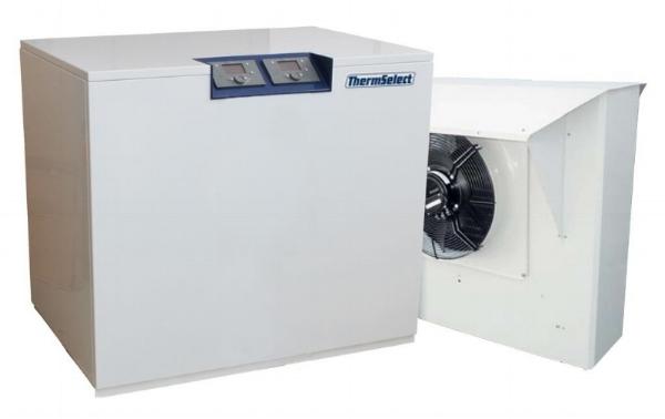 Kompakt in einem Gehäuse - die Wärmepumpe  therm select®