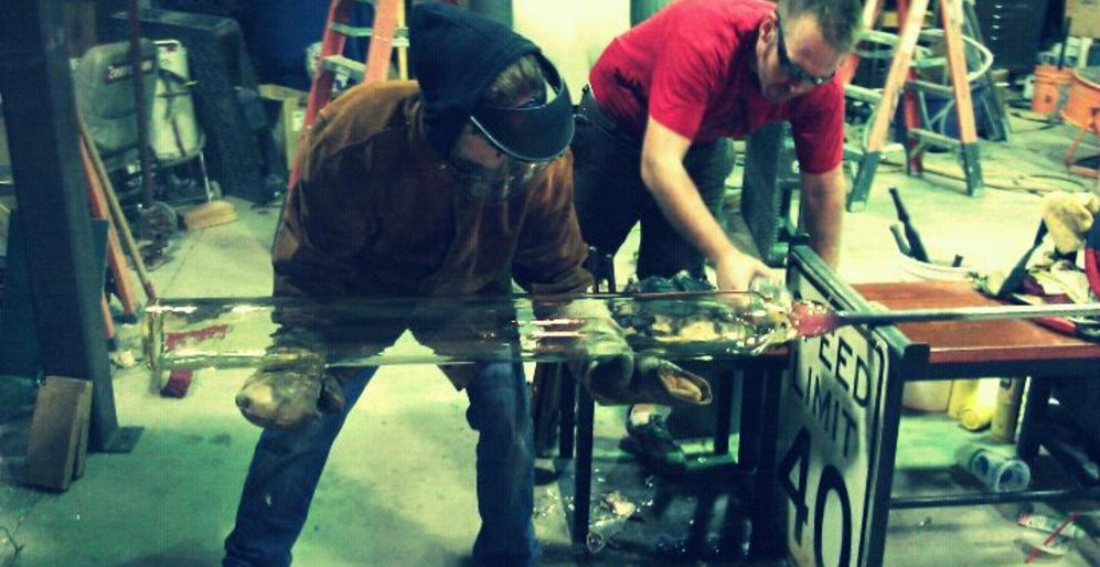 Seth Fairweather, Glassblowing Workshop Instructor