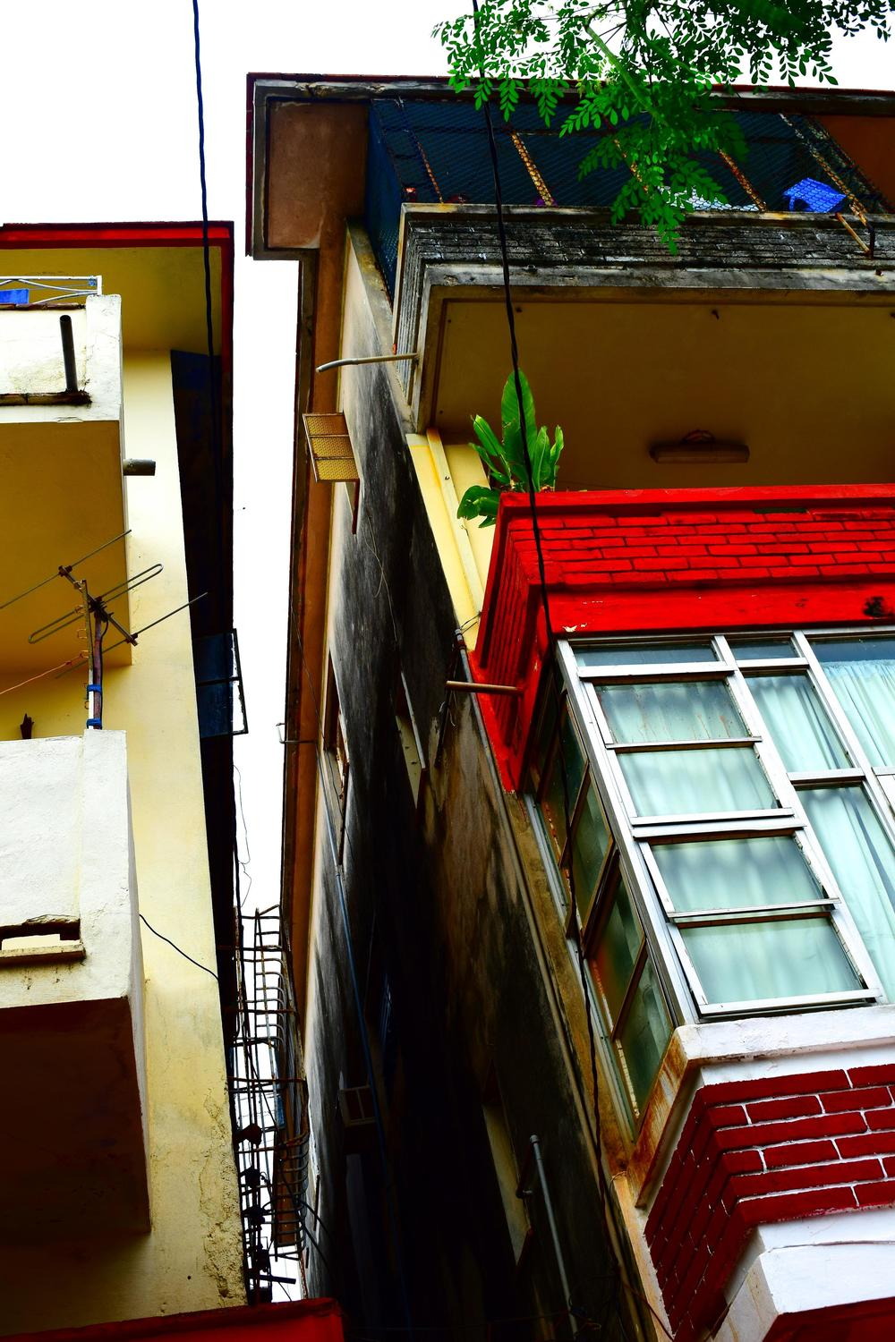 The architecture and color combinations in Havana.  PC: Kimberly Harris
