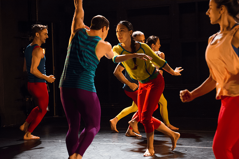 Douglas Dunn + Dancers,  Photo by Sally Cohn