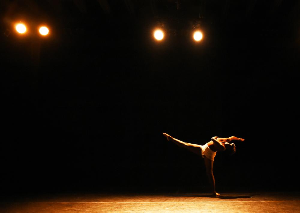 2018 Development & Marketing Artist intern njeri rutherford performs in A.R.t. On The Vine: Artist Grown Dances Photo by Heidi Wild
