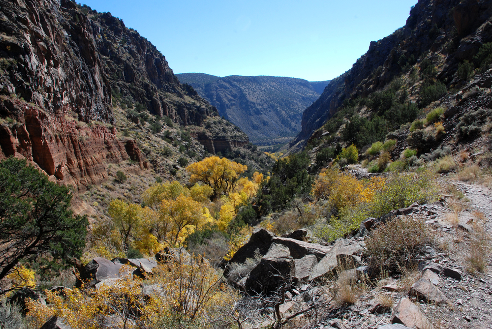 Lower Frijoles Canyon