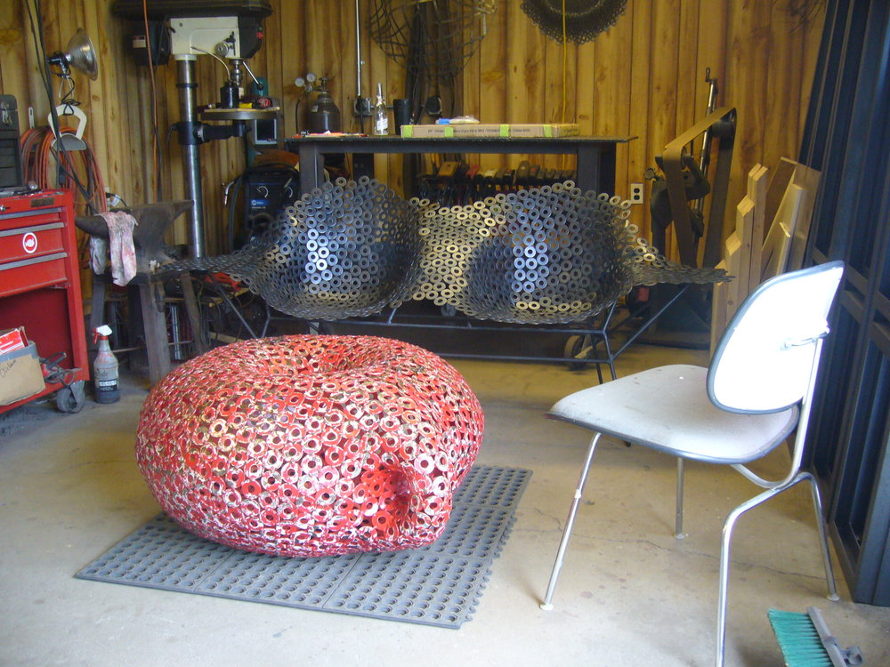 original works in metal   metal art, furniture, & custom pieces   Shop Current Work