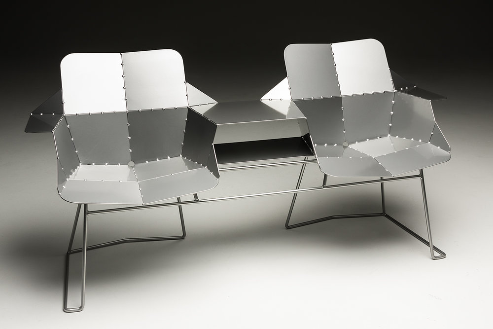 Planar Double Bench