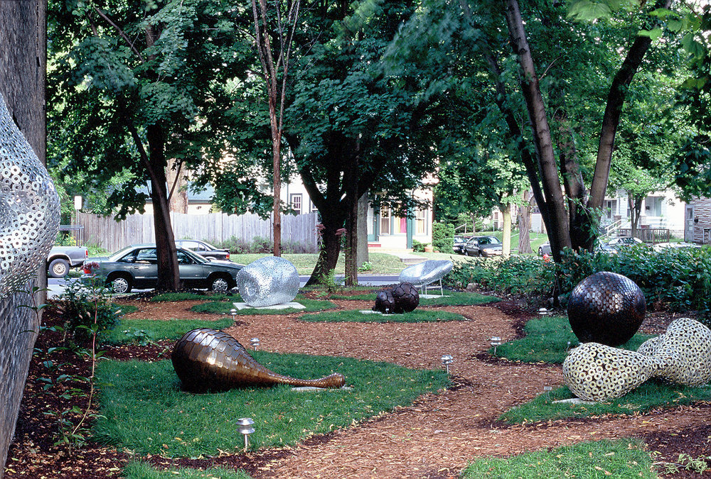 Hotcakes Sculpture Garden