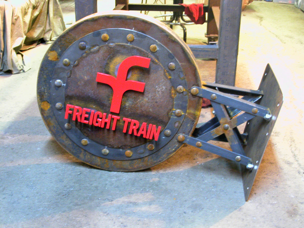 Freight Train sign