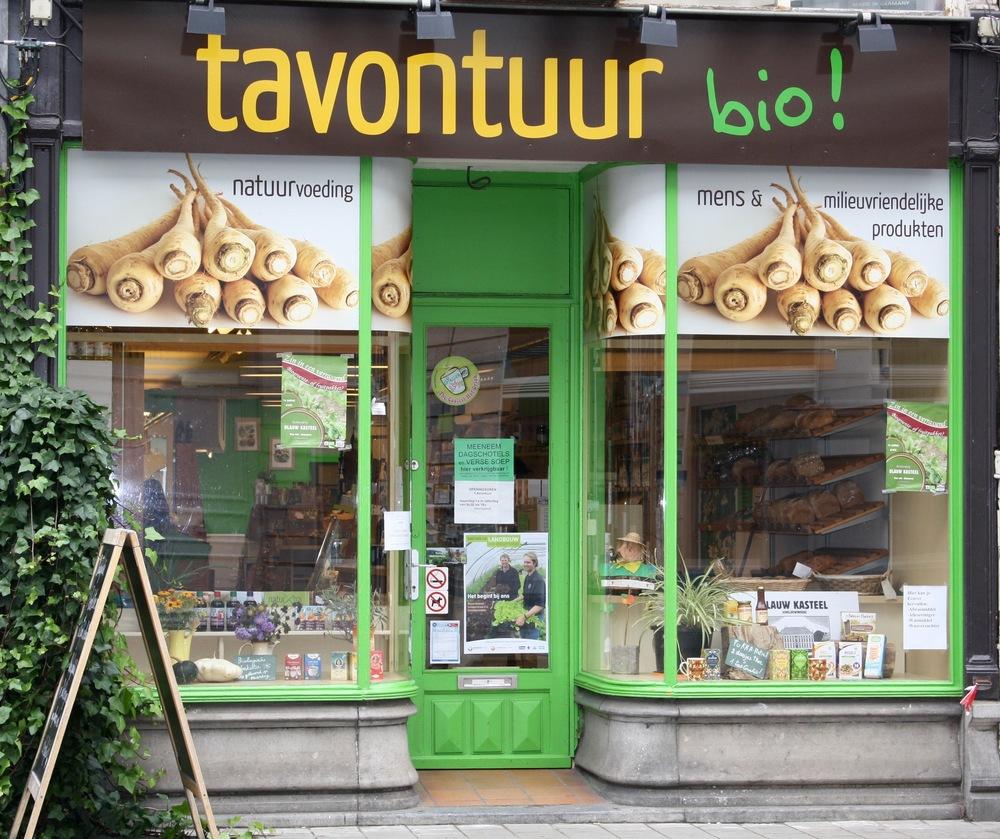 biowinkel Tavontuur Gent gevel