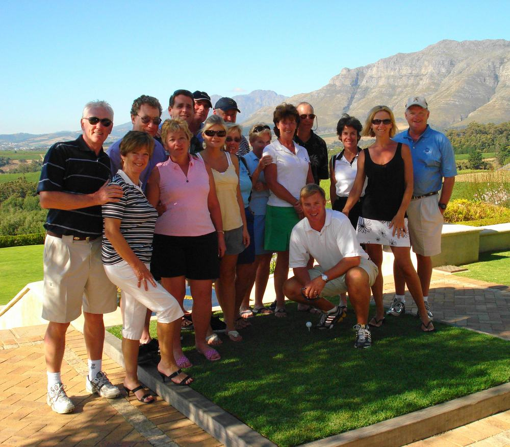 Golf Group at Winery