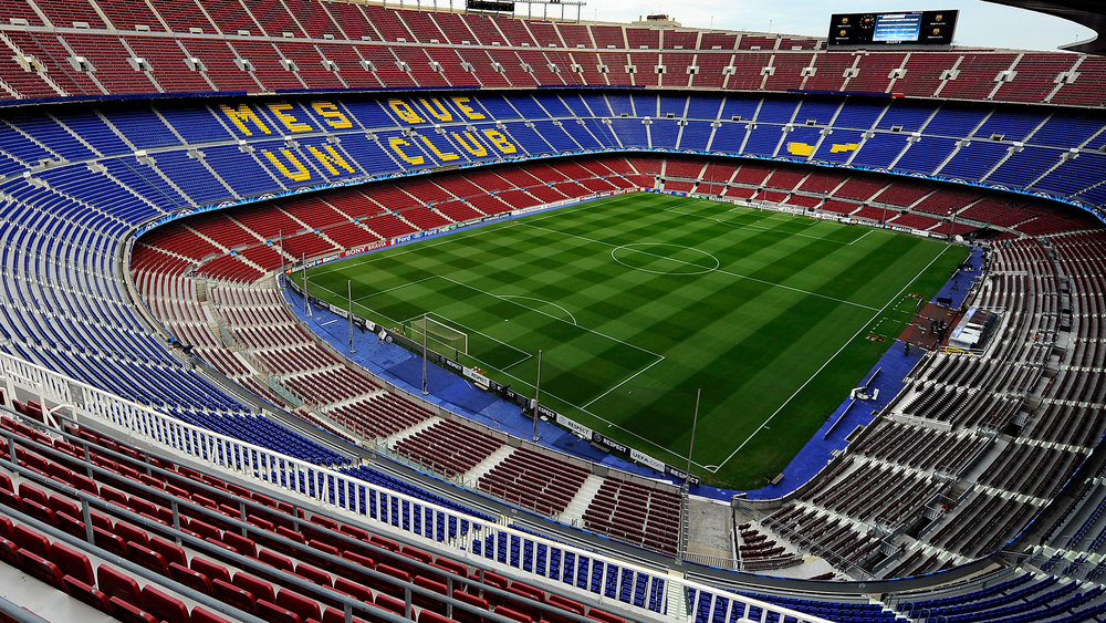 Camp nuo - home of football club barcelona