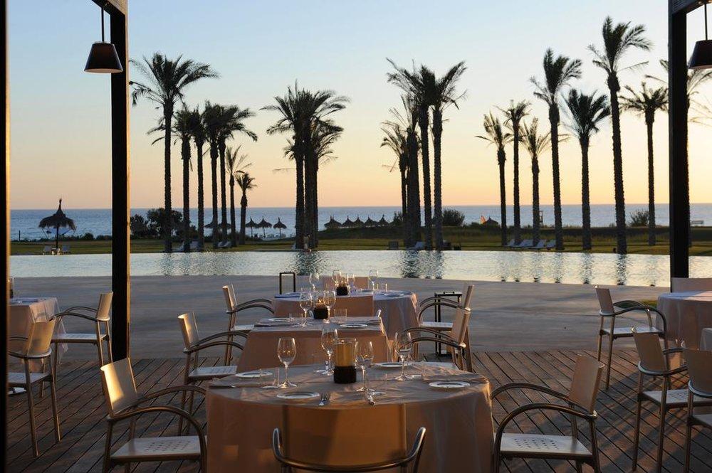 dinner on the Mediterranean