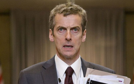Malcolm Tucker  I want to make this very clear this isn't Peter Capaldi playing Bond, this is Malcom Tucker the brutal vulgar director of communications as 007. Bond always has some offhand wit, and nobody does a dressing down like Tucker. A match made in heaven.