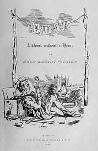 Book:    Vanity Fair    Author:   William Makepeace Thackeray   Year published:   1847-8   Reading date:   Fall 2012