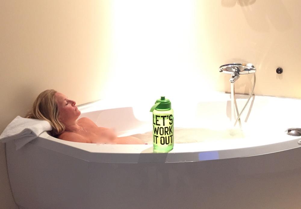 Som å ligge hjemme i sitt eget badekar