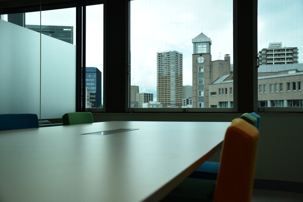 5F会議室から見える風景