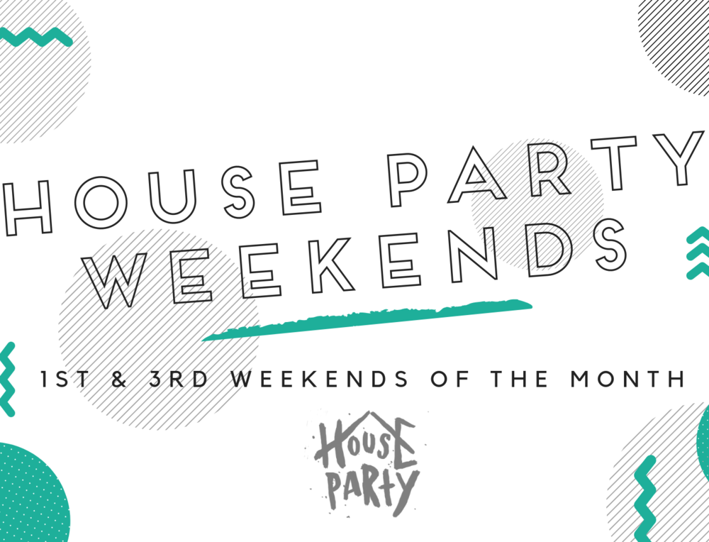 House Parties - We are currently in the Spring 2019 semester of House Parties! They meet every 1st and 3rd Sundays of the month. To view our House Parties and find one for you and your family, click here!