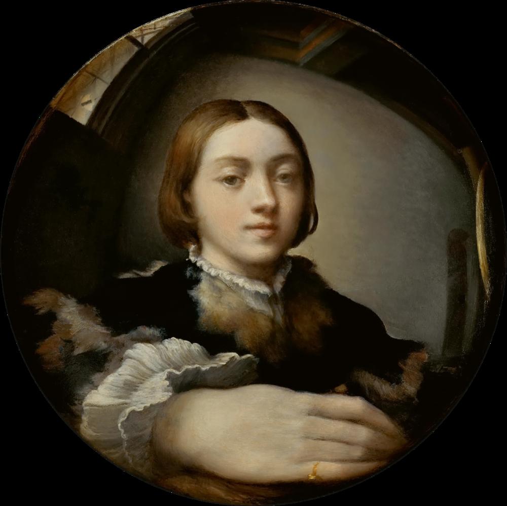 Parmigianino , Self-Portrait in a Convex Mirror, 1524