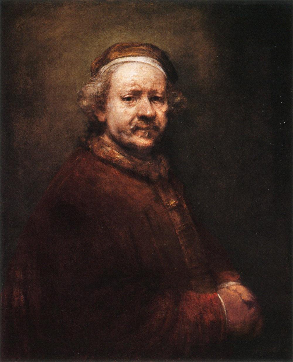 REMBRANDT   Self-portrait,   1699
