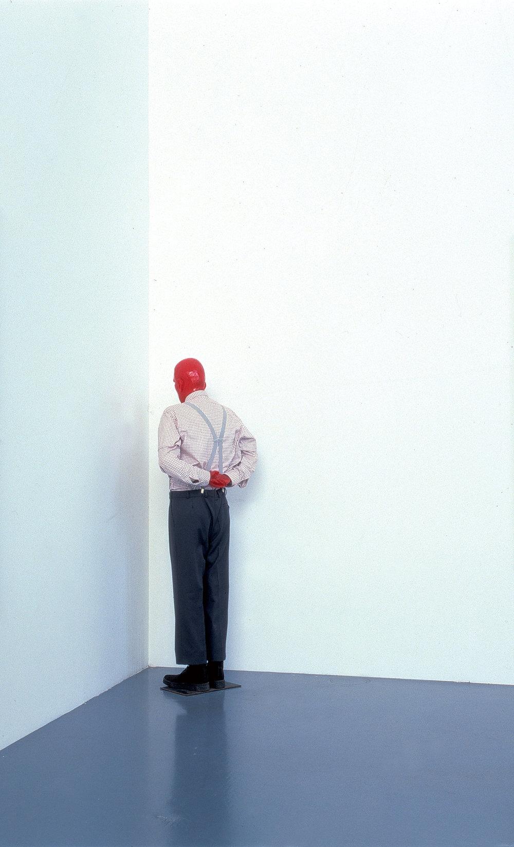 "MARTIN KIPPENBERGER  - ""MARTIN IN THE CORNER, YOU SHOULD BE ASHAMED OF YOURSELF"", 1989-90."