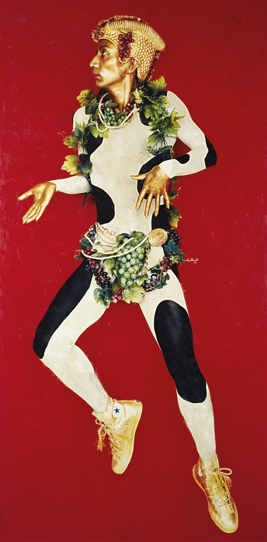 YASUMASA MORIMURA - DOUBLANNAGE (DANCER I), 1989.