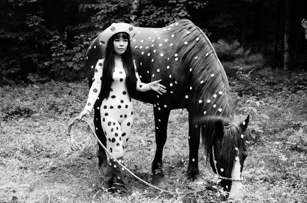 YAYOI KUSAMA - HORSEPLAY, 1967.