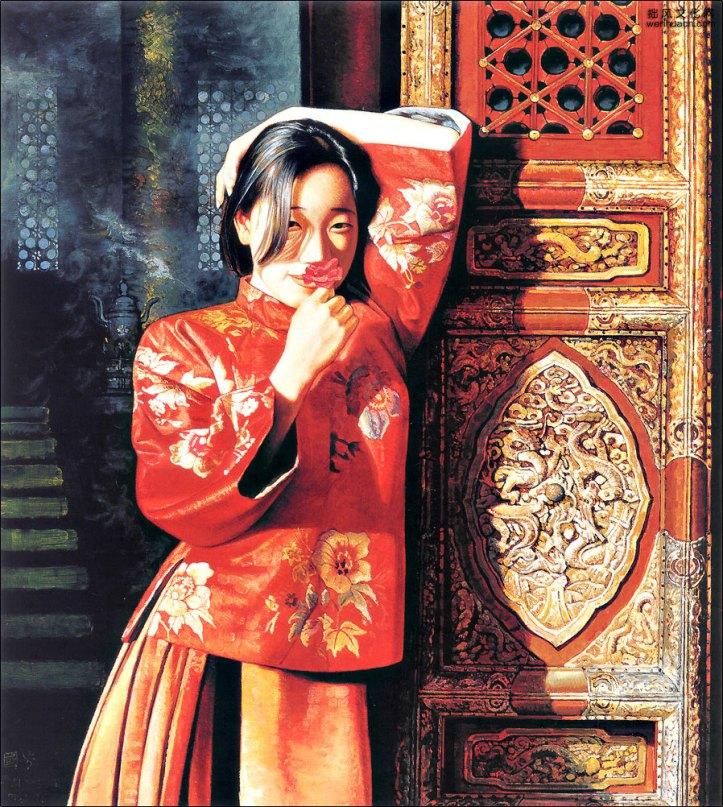 JIANG GUOFANG, 'Spring Breeze in the Forbidden City'