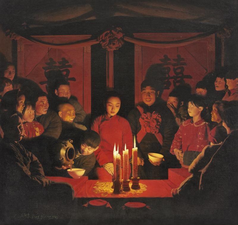 WANG YIDONG, 'Teasing the NewlyWeds',   1998