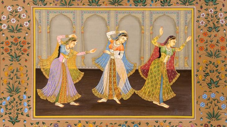 Kishangarh School of Painting of BANI THANI.