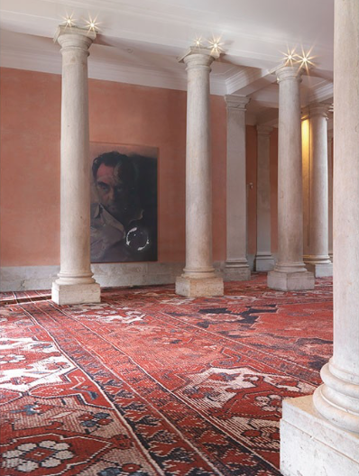 RUDOLF STINGEL, 'Untitled',   2012   Installation view at Palazzo Grassi, 2013. Pinault Collection.  Photo:  Stefan Altenburger. Courtesy of the artist.