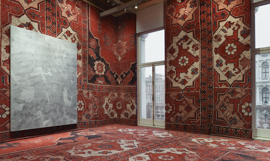 RUDOLF STINGEL, 'Untitled',   2012   Installation view at Palazzo Grassi, 2013. Collection of the artist.  Photo:  Stefan Altenburger. Courtesy of the artist.