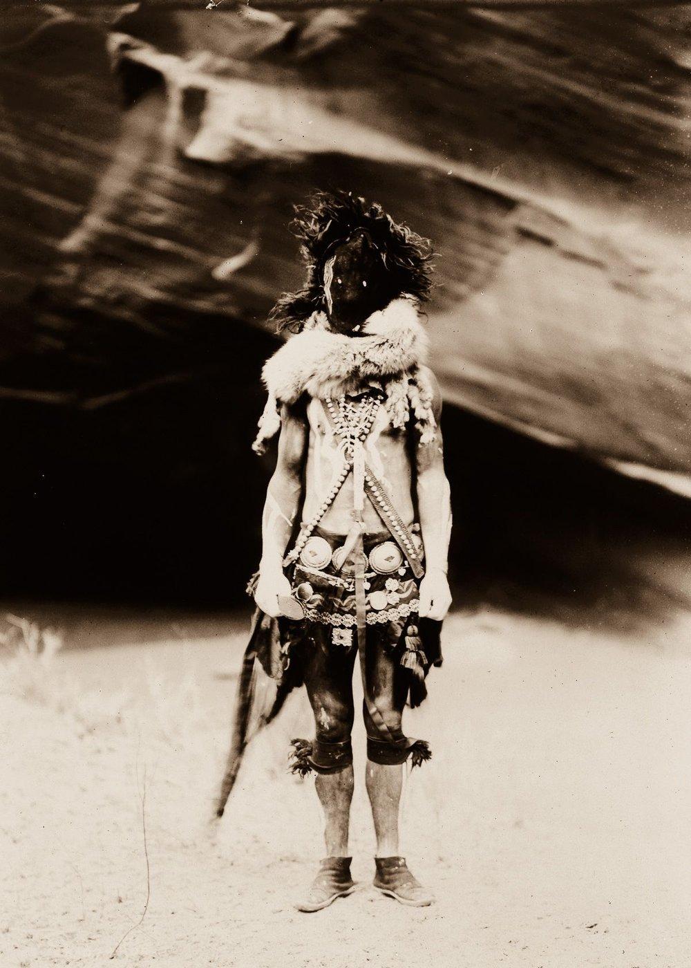 Nayenezgani, a Navajo man,  1904.  ©EDWARD S. CURTIS/LIBRARY OF CONGRESS