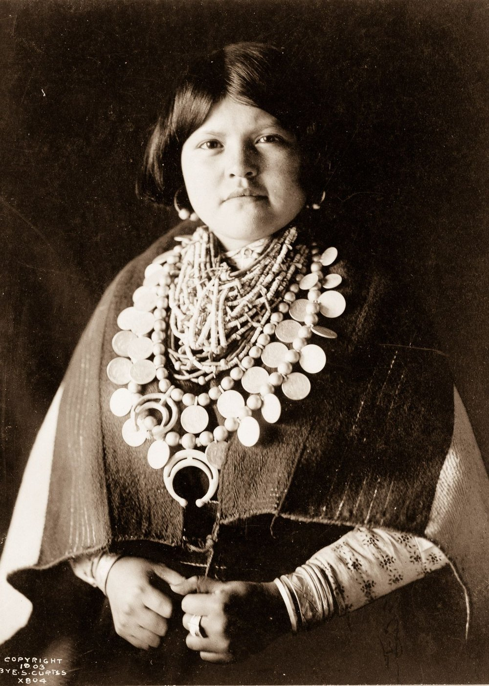 A Zuni woman,  1903.  ©EDWARD S. CURTIS/LIBRARY OF CONGRESS