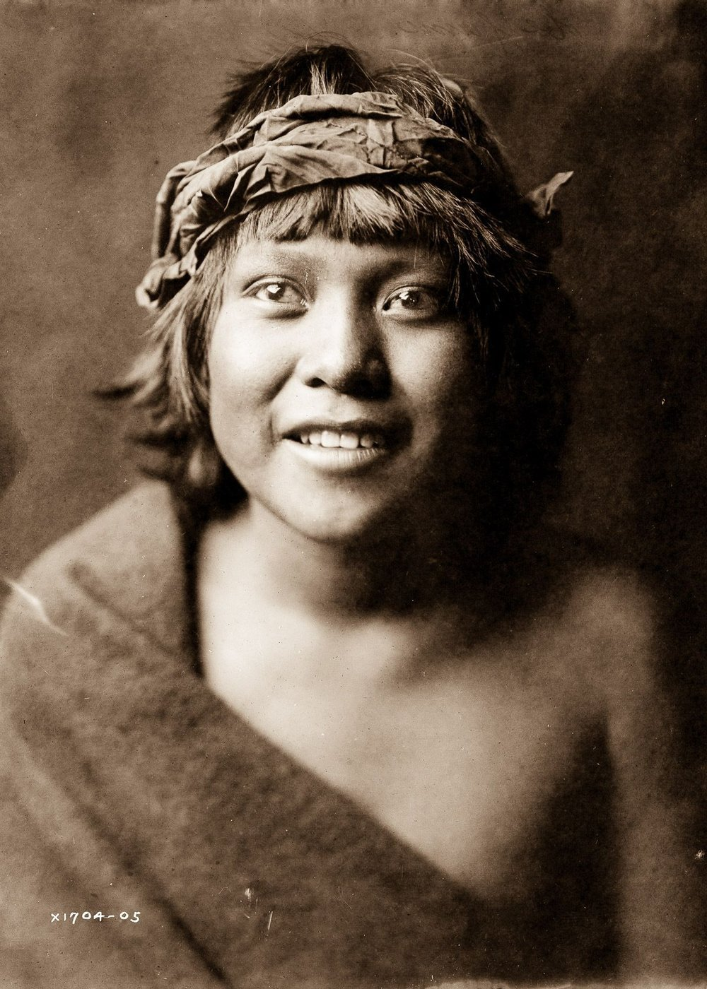 "Okuwa-Tsire, also known as ""Cloud Bird,"" of the San Ildefonso Pueblo,  1905.  ©EDWARD S. CURTIS/LIBRARY OF CONGRESS"