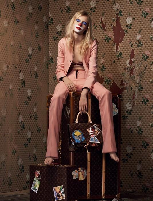 CINDY SHERMAN for Louis Vuitton 'Iconoclasts'    ©Louis Vuitton