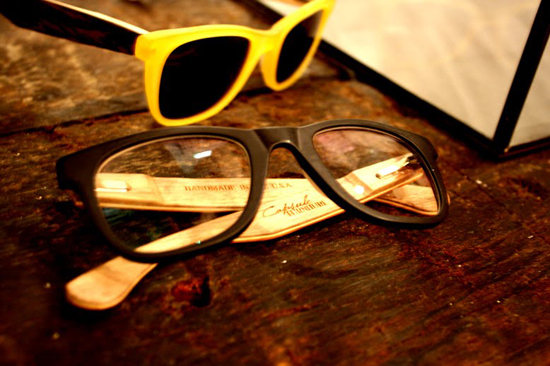 Stylin Wood Sunglasses by Dan Faires Wooden Glasses