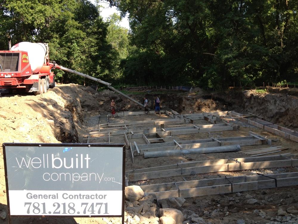 wellbuilt concrete pour