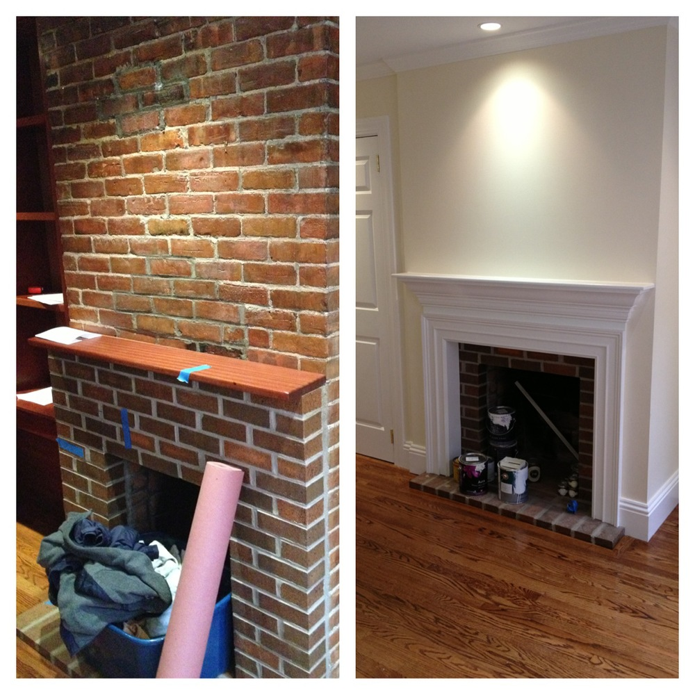 restoration of a fire place wellbuilt