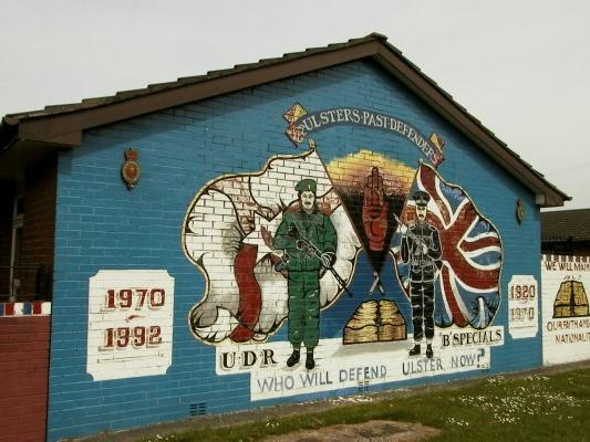 Loyalist Murals, Belfast