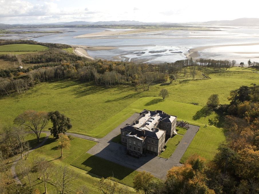 Lissadell Arial View